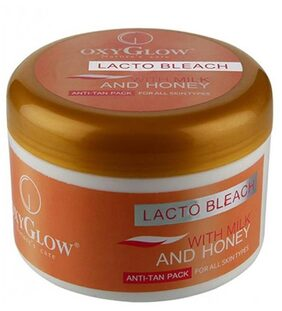 Oxyglow Lacto Bleach with Milk and Honey (500 g)