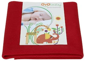 OYO BABY Quickly Dry for Babies Waterproof Bed Protector sheet X-Large Size (200 cm X 140 cm)