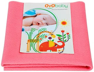 OYO BABY Quickly Dry sheet for Babies Waterproof Mattress Protector Large Size (140 cm X 100 cm)