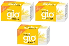 Ozone Ayurvedics Instant Glo Bleach (Pack of 3)