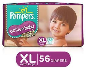 Pampers Active Baby Diaper Xl 56 pcs