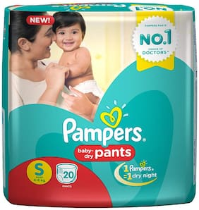 Pampers Baby Dry Pants S 20 pcs