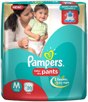 Pampers Baby Dry Pants M 20 pcs