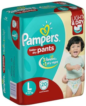 Pampers Baby Dry Pants L 20 pcs