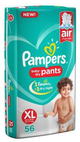 Pampers Diaper Pants - Extra Large New (56 Pants)