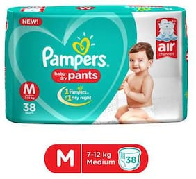 Pampers Diapers - New  Medium Size Pants 38 pcs