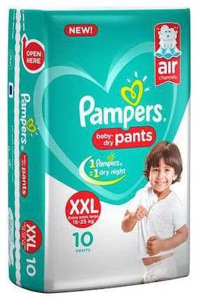 Pampers Diaper Pants - XXL New (10 Pants)