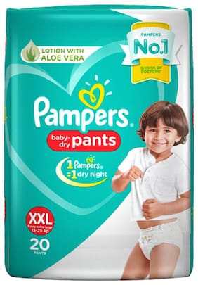 Pampers Diapers - New XXL Size Pants(Pack of 20 pcs)