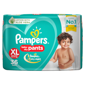 Pampers Diaper Pants - Extra Large New (36 Pants)