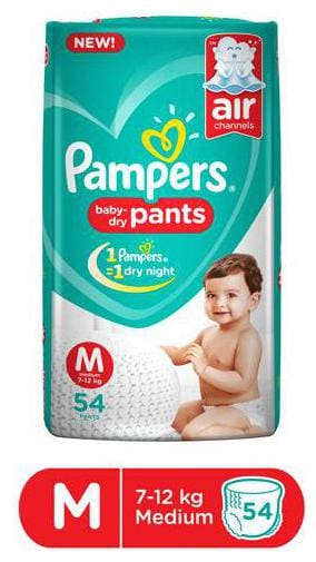 Pampers Diaper Pants - Medium 54 pcs