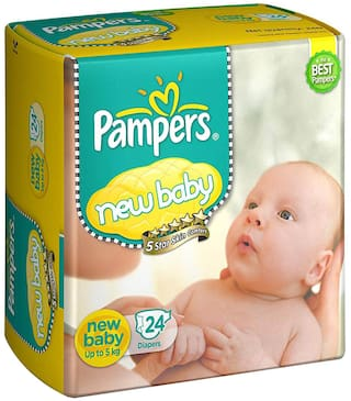 Pampers New Born 24 pcs