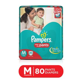 Pampers Pants Medium Diapers 80Pcs