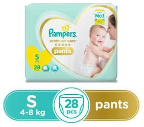Pampers Premium Care Diaper Pants - Small Size 28 pcs