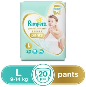Pampers  Premium Care Pants Diapers Large Size 20 pcs