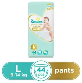 Pampers Premium Care Diaper Pants - Large Size 44 pcs