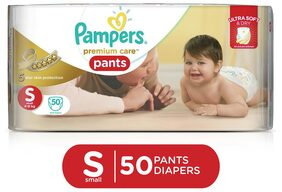 Pampers Premium Care Pants Diapers Small Size 50 pc Pack