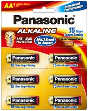 Panasonic Alkaline LR6TDG/1B6 1.5V Aa Battery