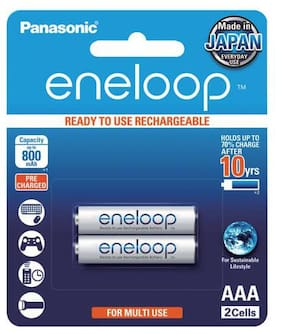 Panasonic Eneloop Rechargeable Battery AAA Set of 2