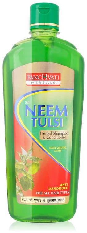 Panchvati Herbals Sat Neem Tulsi Shampoo -450 ml