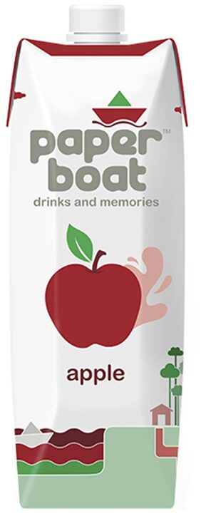 Paper Boat Apple Juice 1L Pack Of 2