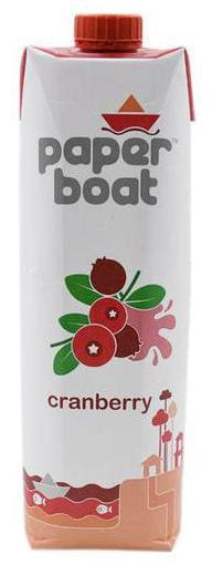Paper Boat Drink - Cranberry 1 L
