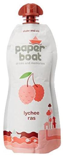 Paper Boat Juice - Lychee Ras 200 ml