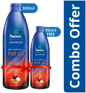 Parachute Advansed Ayurvedic Hot Oil 300 ml with Free 90 ml Pack
