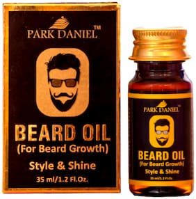 PARK DANIEL Beard Oil- For Beard Hair Growth (35 ml)