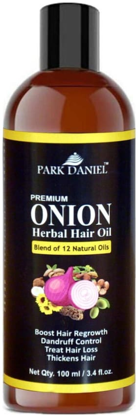 Park Daniel Premium Onion Herbal Hair Oil - 100 ml