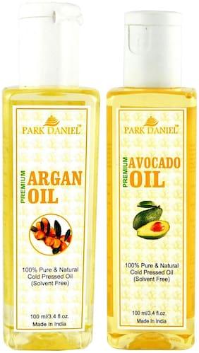 Park Daniel Premium Argan Oil And Avocado Oil Combo Of 2 Bottles Of 100 ml (200 ml )