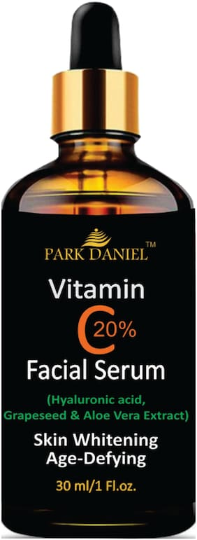 Park Daniel Vitamin C Serum with Hyaluronic acid- Anti Ageing and Anti Wrinkle(30 ml)