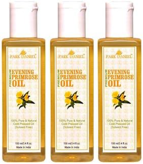 Park Daniel Premium Evening Primrose Oil- 100% Pure & Natural Combo Pack Of 3 Bottles Of 100 ml (300 ml )
