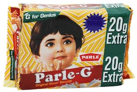 Parle Gluco Biscuits - Parle-G 110 g (20% Extra)