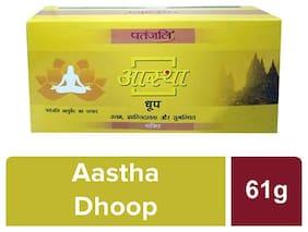 Patanjali Aastha Dhoop Bhakti -61g(Pack of 5 )