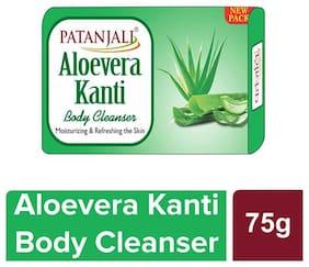 Patanjali Aloevera kanti Body Cleanser 75 g (Pack of 4)