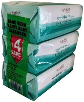 Patanjali Aloevera Kanti Body Cleanser-(3x1)150 gm