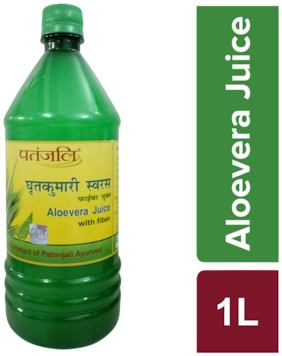 Patanjali Aloe Vera Juice With Fiber 1 L
