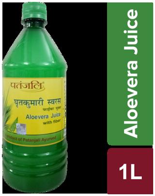 Patanjali Aloe Vera Juice With Fiber 1 L Immunity/Immunity Booster