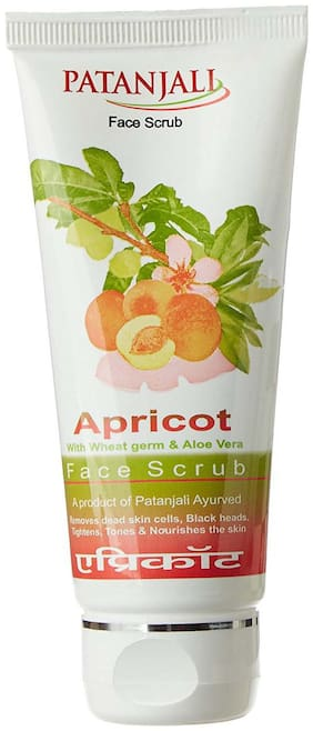 Patanjali Apricot Face Scrub 60 gm