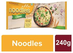 Patanjali Atta Noodles Classic -Family Pack 240 g