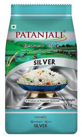 Patanjali Basmati  silver Rice 1 kg