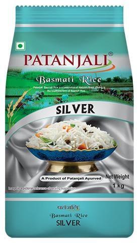 Patanjali Basmati Silver Rice 1kg (Pack Of 1)