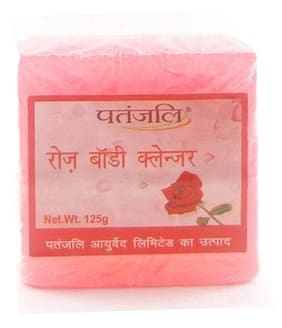Patanjali Body Cleanser - Rose 125 gm