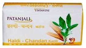 Patanjali Body Cleanser - Haldi Chandan Kanti 150 Gm