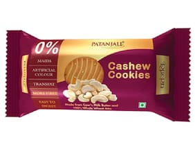 Patanjali Cashew Cookies 200 g (Pack of 2)