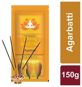 Patanjali Champa Agarbatti 150 G ( Pack of 2)