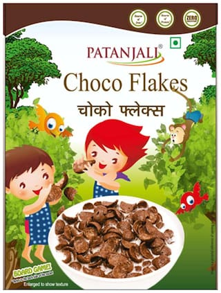 Patanjali Chocos Flakes 250 gm (Pack of 2)