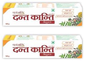 Patanjali Dant Kanti Natural  100 G ( pack of 2 )