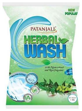 Patanjali Detergent Powder - Herbal Wash 1 kg