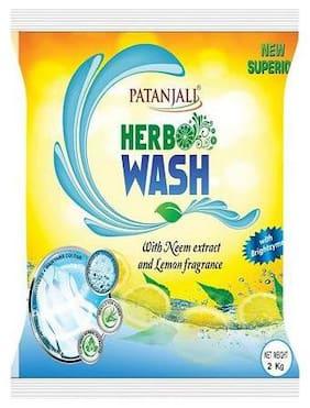 Patanjali Detergent Powder - Herbo Wash 2 kg
